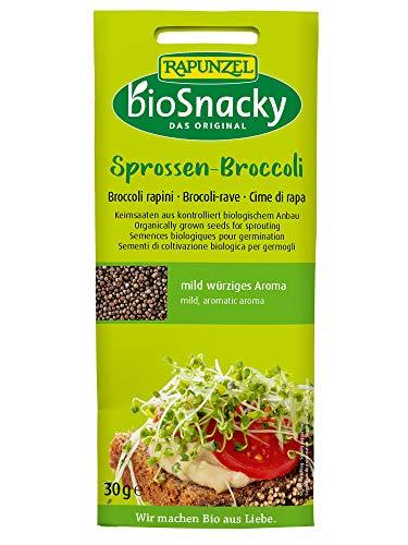 Rapunzel BioSnacky Keimsaat Sprossen-Broccoli, 30 g