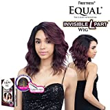 FreeTress Equal Chasty Invisible L Part Synthetic Wig (1B)