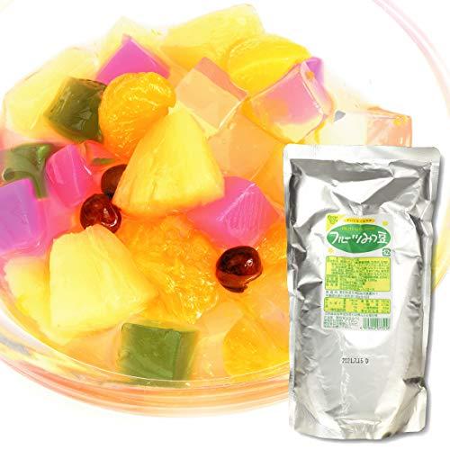 フルーツ フルーツみつ豆 1袋 (1袋1kg入り) 大袋 国華園