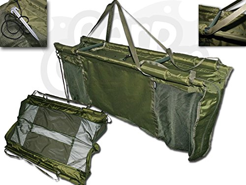 43897 Prologic NEW GREEN Floating Retainer Weigh Sling Carp Fishing