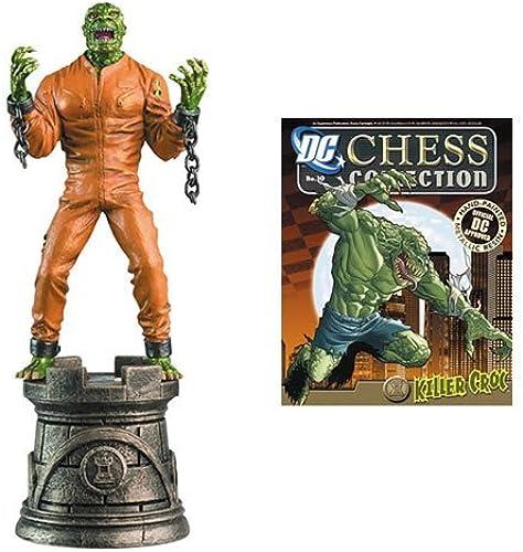 DC Chess Collector Figure & Magazine  30 Killer Croc schwarz Rook by Eaglemoss by Eaglemoss