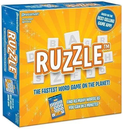 mejor opcion Ruzzle Board Game by Pressman Pressman Pressman  más vendido