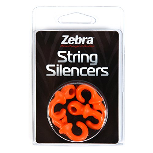 ZEBRA String Silencers Pack, Orange