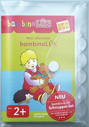 bambinoLÜK-Sets: bambinoLÜK-Set: Einführende Übungen für Kinder ab 2 Jahren: Mein allererstes bambinoLÜK-Set