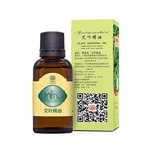 Ai Ye Neues Produkt natürlicher Bio-Extrakt, Naturreine Ätherische Öle Pflanzentherapie Lymphdrainage Wermutöl ,Karton
