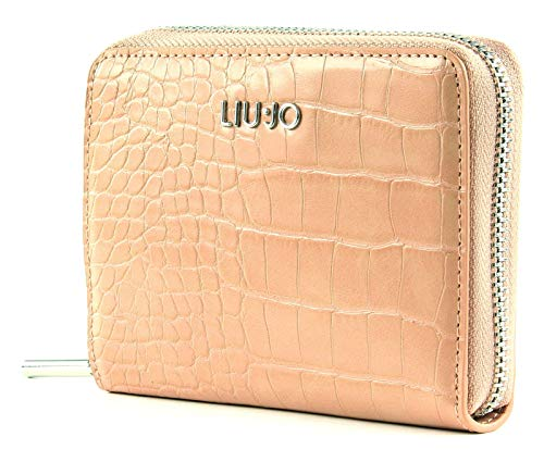LIU JO Manhattan S Zip Around Cameo Rose