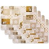 Tovagliette stampate Snow white, Tovagliette da Tavola, tovaglietta, Tovaglietta per sala da pranzo, a prova di cibo, 4 pezzi, 30 x 450 cm, Venilia 59067