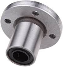 Round Flanged Mounted Linear Ball Bearing 13mm/0.5'' In Bore,32mm/1.26 Inch Length LMF13UU