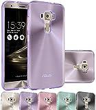 SCOTT-FRANCE Housse ASUS Zenfone 3 Deluxe ZS570KL, Etui Housse Coque de Protection Ultra Fine Silicone TPU Gel pour ASUS Zenfone 3...