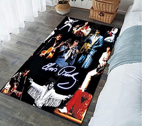 HUABUDAYIN Famoso Maestro Cantante Art Floor Mat Impresión 3D Alfombra Antideslizante Alfombra Dormitorio Sala de Estar Hogar Felpudo 100x150cm