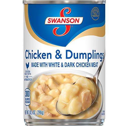 12-Pack 10.5oz Swanson Chicken & Dumplings  $15 at Amazon