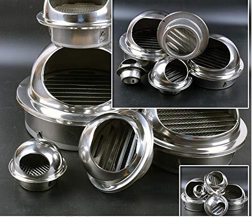 NO LOGO SY-KTLJ, Buen diámetro de Trabajo 60 mm -75 mm Ventilador del Tubo Extractor Extractor Extractor de Acero Inoxidable Salida del Extractor Ventilador (Size : 70MM)