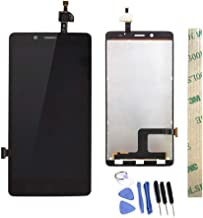 Dr.Chans LCD Display Screen Touch Digitizer Assembly Replacement with Free Tools for ZTE Blade V220 Black