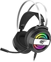 Fone de ouvido Havit Gamenote H2026D RGB Super Bass GAMING para PC / PS4 / Xbox One