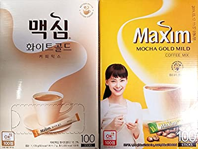 Maxim Coffee Mix, Instant Coffee (11.8 g / pk) by Maxim