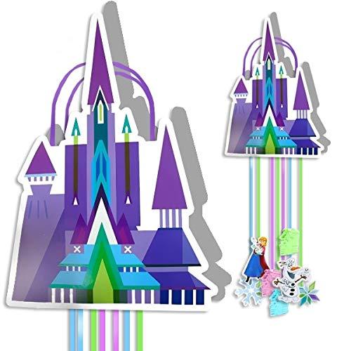 Set de 2 Piñatas Corazón Infantiles Decorativas