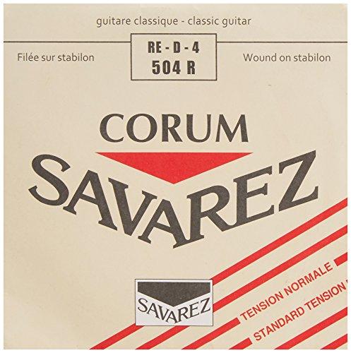 Savarez Cuerdas para guitarra clásica Cuerdas sueltas D4w Corum Standard 504R (4th)