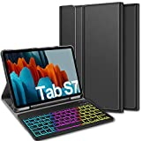 ELTD Keyboard Case for Samsung Galaxy Tab S7 (QWERTY Layout), Case with 7