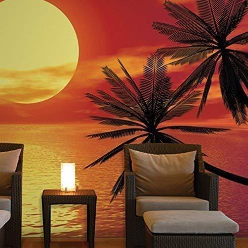 Walplus behang grote romantische zonsondergang fotodecoratie kunst interieur wallpaper
