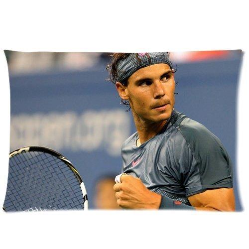 Rafael Nadal Pillowcases Custom Pillow Case Cushion Cover 20 X 30 Inch Two Sides: Amazon.es: Hogar