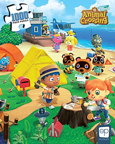 """Animal Crossing """"Welcome to Animal Crossing"""" 1000 Piece Jigsaw Puzzle 