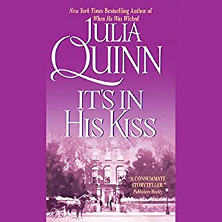 It's In His Kiss                   By:                                                                                                                                 Julia Quinn                               Narrated by:                                                                                                                                 Simon Prebble                      Length: 9 hrs and 41 mins     7 ratings     Overall 5.0