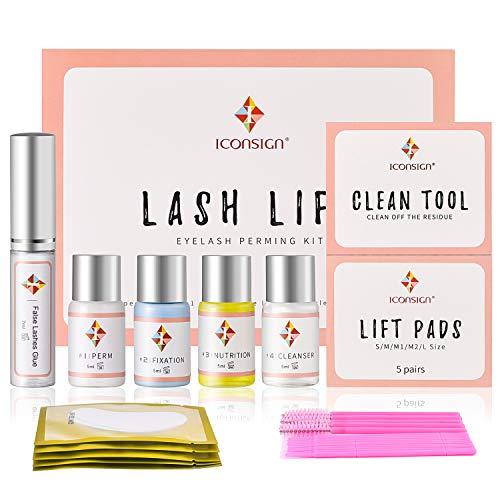 Lash Lift Kit, Eyelash Perm Kit Cilia Extension Suitable For Salon Professional Use Eyelash Lift Set