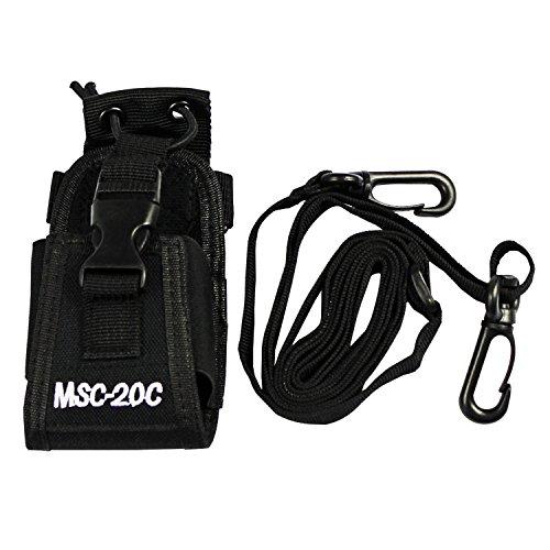 KEESIN De múltiples funciones del sostenedor de la bolsa del teléfono para el GPS radio de dos vías walkie talkie pistolera (20C)