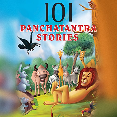 101 Panchatantra Stories audiobook cover art