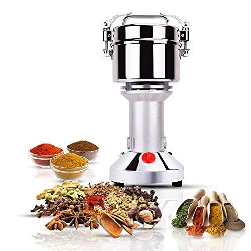 500g Electric Grain Mill Grinder Spice Herb Grinder Superfine Powder Grinding Machine Dry Grinder for Cereals Grains Coffee Seeds Pepper 110V