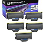 Speedy Inks Compatible Toner Cartridge Replacement for Brother TN360 (Black, 5-Pack)