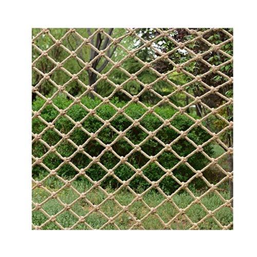 Mehrzweck-Katzensicherheiten-Anti-Fall-Netz, Juteschnur String Netting Dekorative Hanfnetz Handwerk Dekoration Net Papagei Kletternetz Veranda Netting Net Zaun Net Dekorative Hintergrund Wand Hanfnetz