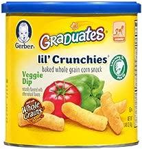 Gerber Graduates Lil' Crunchies Veggie Dip (Pack of 2)