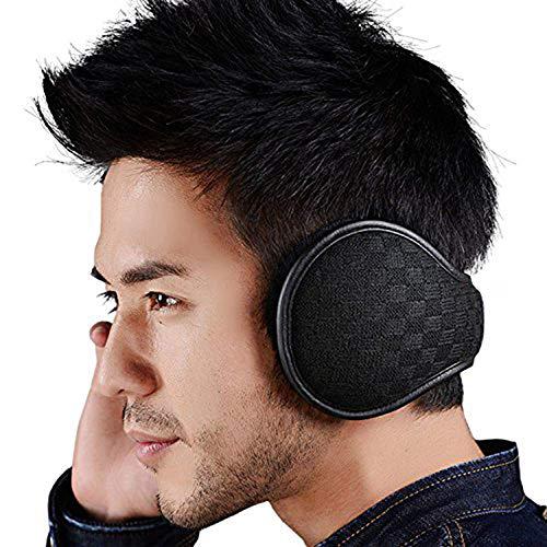 Ear Warmers For Men Women Foldable Fleece Unisex Winter Warm Earmuffs...
