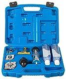 RELD Professional Detector de Culata Probador de Juntas de Cabeza Detector de Fugas CO2 Universal para Todos los automóviles y Motocicletas Detector de Fugas Motor rápido con Caja y 500 ml de líquido