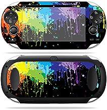 MightySkins Skin Compatible with PS Vita PSVITA Playstation Vita Portable wrap Sticker Skins Splatter