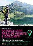 Passeggiare in Prealpi e Dolomiti. 100 percorsi per tutti fra colli, sentieri e rifugi, delle province di Verona, Vicenza, Treviso, Udine, Belluno