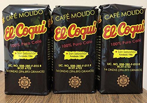 Cafe El Coqui Three Pack (42 ounces)