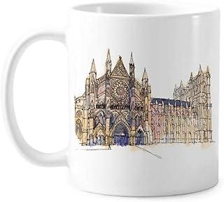 Westminster Abbeyof London Mug Pottery Ceramic Coffee Porcelain Cup Tableware