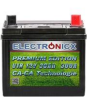 U1R Groene Power Accu-gazontractor, 30 Ah, 300 A, 12 V