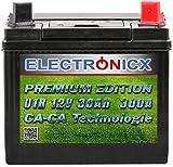 electronicx green power u1r batteria premium per i trattorini tosaerba e macchine per il giardinaggio, batteria, 12 volt