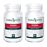 Serenoa 60 Capsule Vegetali - Erba Vita (2 Confezioni da 60 Capsule)