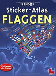 Sticker-Atlas Flaggen