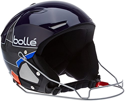 bollé Skihelm Backline Shiny Blue / Orange Star, 59-61 cm, 30948