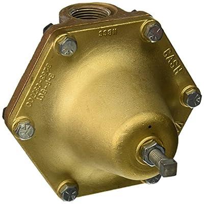 "Cash Valve 12397-0078 Bronze Pressure Regulator, 55 - 100 PSI Pressure Range, 1"" NPT Female from Tyco Valves & Controls"