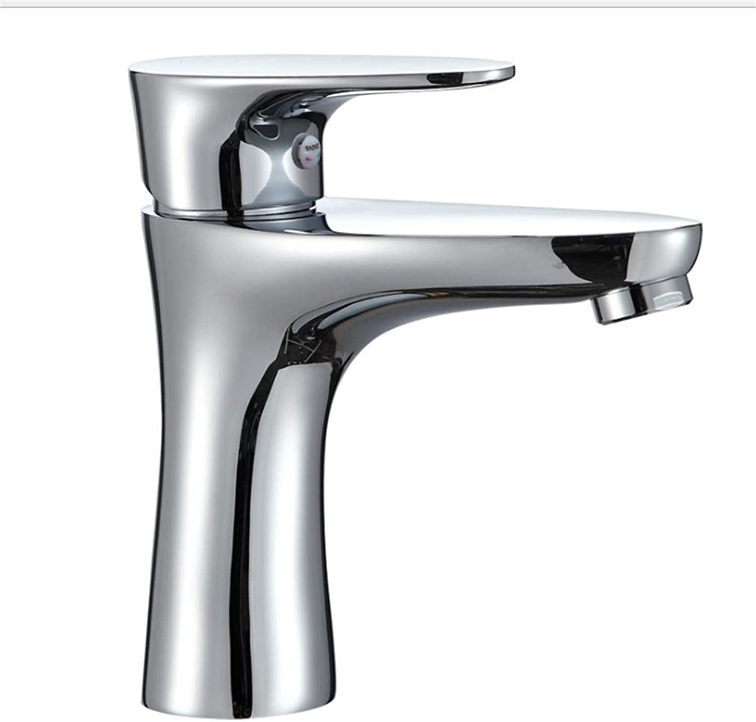 Counter Drinking Designer Archcopper Cold and Hot Basin Faucet Single Hole Mixing Faucet greenical Table Basin Faucet