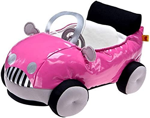 Build a Bear Smallfrys Buddies Cruisin' Rosa Fuchsia ConGrünible Plush Mini Teddy Toy Car by Build a Bear