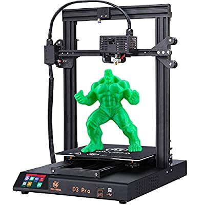MINGDA D3 Pro 3D Printer Auto Leveling, Resume Printing 3D Printers Kit DIY Printing Machine with Filament Detector, Silent Printing, 3.5''Colorful Touch Screen, 320x320x400mm for Large Models
