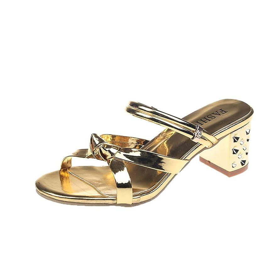 慣性チートピカリング[Feteso ハイヒール] サンダル? レディース 可愛い??安定して歩きやすい 痛くない 快適 美脚 足長效果 おしゃれ 通勤 旅行?春 夏 秋?Women New?high?heel Sandals