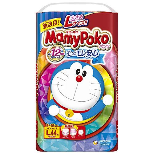 【パンツ Lサイズ】マミーポコパンツ ドラえもん オムツ (9~15kg)44枚